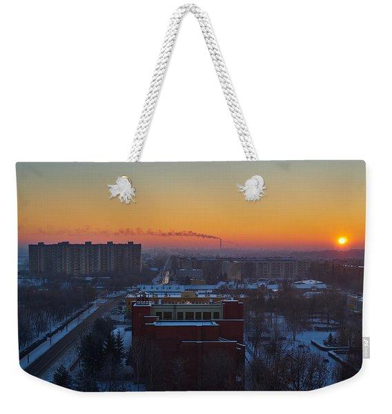 Choo Choo Weekender Tote Bag