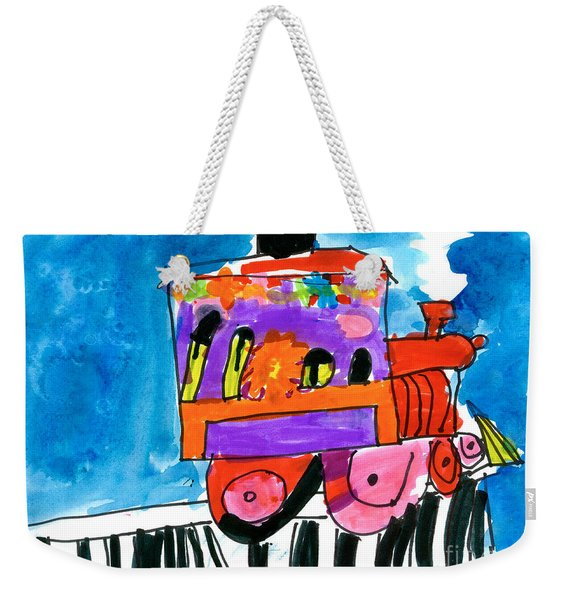 Choochoo Train Weekender Tote Bag