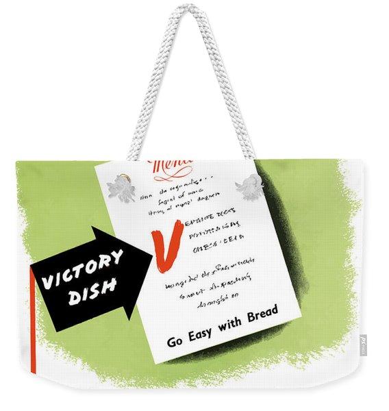 Choose For Victory -- Ww2 Weekender Tote Bag