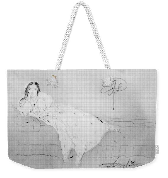 Chopin's Woman Weekender Tote Bag