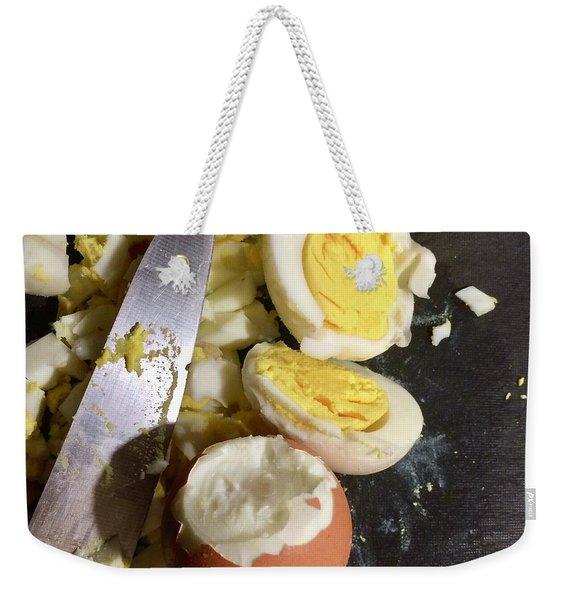 Chopped Weekender Tote Bag
