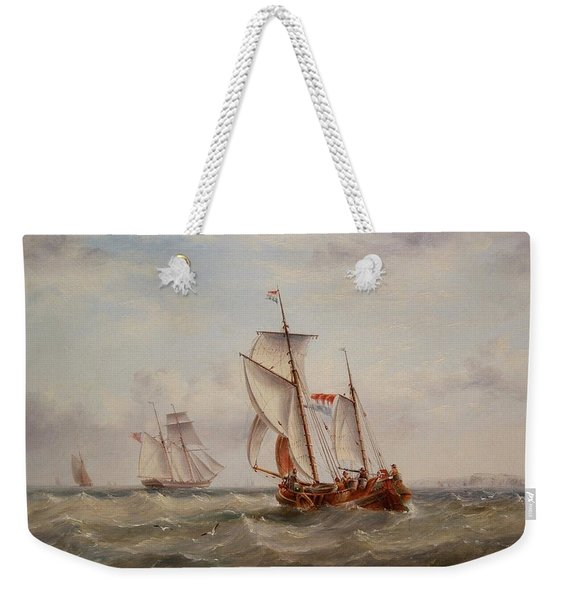 Choppy Waters Weekender Tote Bag