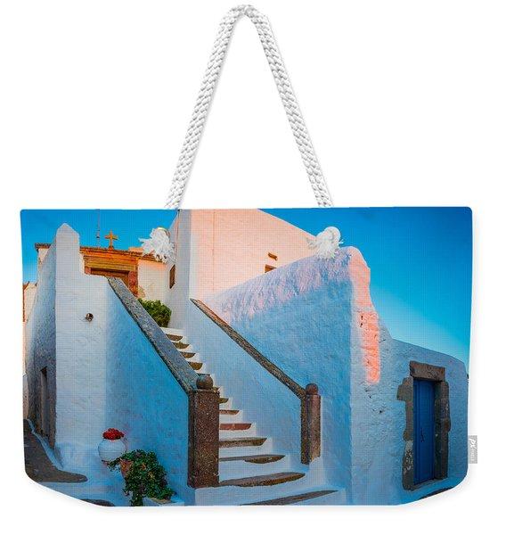 Chora Chapel Weekender Tote Bag