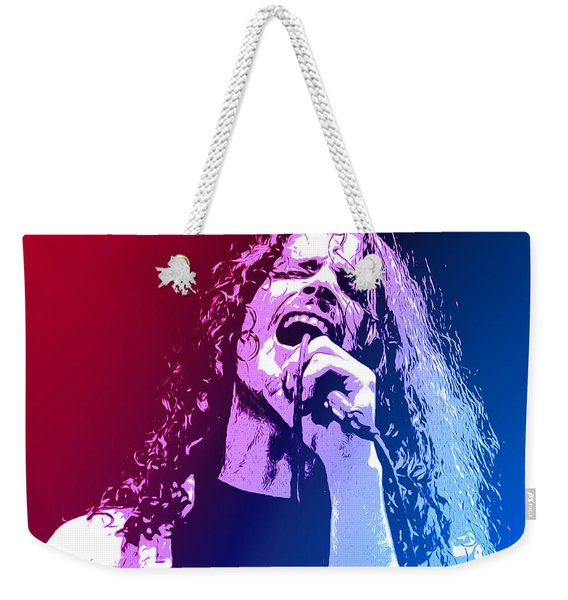 Chris Cornell 326 Weekender Tote Bag