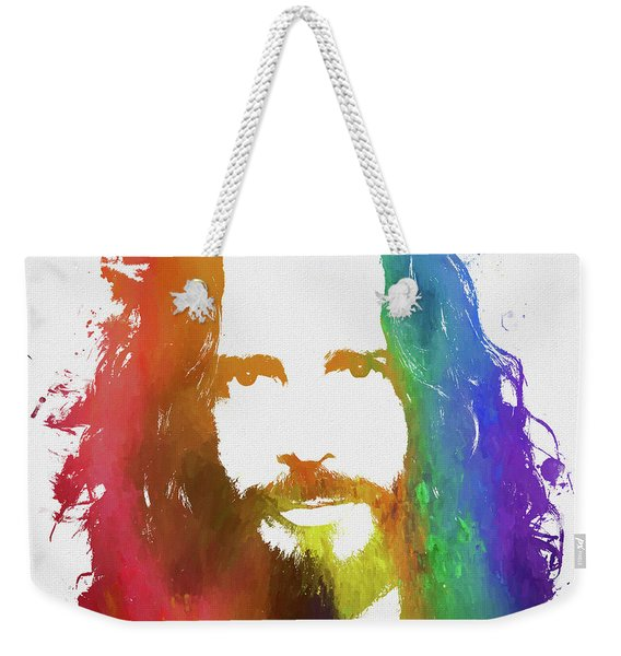 Chris Cornell Color Tribute Weekender Tote Bag
