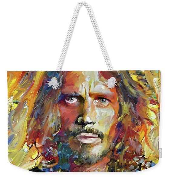Chris Cornell Tribute 2017 Portrait Weekender Tote Bag