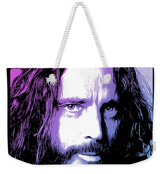 Chris Cornell Tribute Weekender Tote Bag