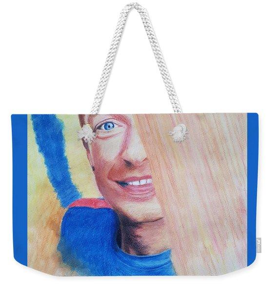 Chris Martin Weekender Tote Bag