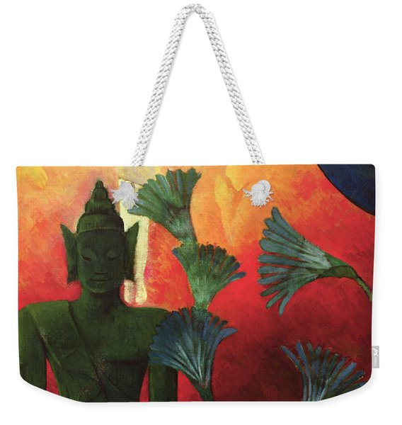 Christ And Buddha Weekender Tote Bag