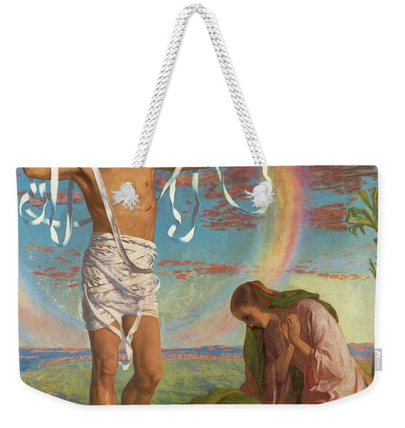 Christ And The Two Marys Weekender Tote Bag