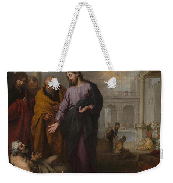 Christ At The Pool Of Bethesda Weekender Tote Bag