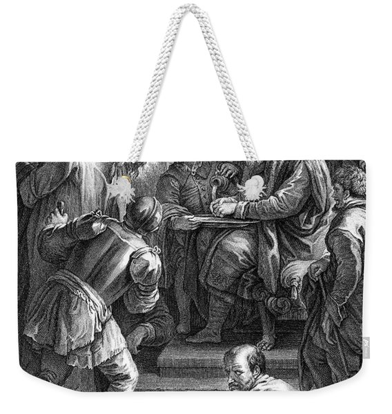 Christ Before Pilate Weekender Tote Bag