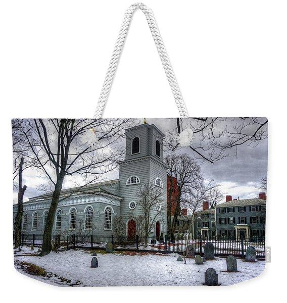 Christ Church In Cambridge Weekender Tote Bag