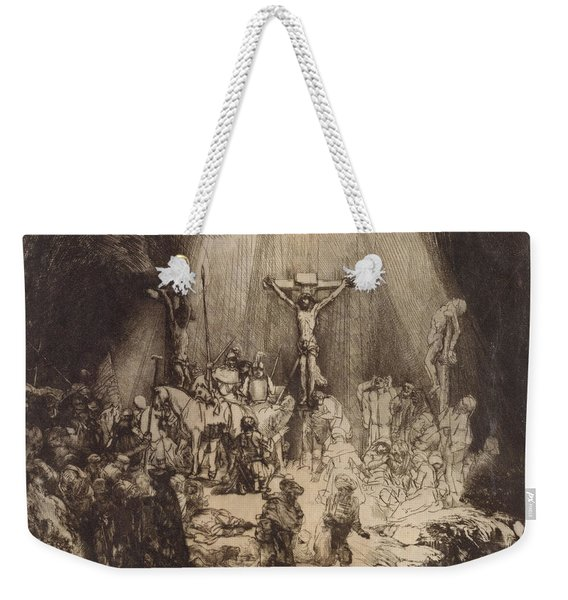 Christ Crucified Between The Two Thieves  The Three Crosses, 1653 Weekender Tote Bag