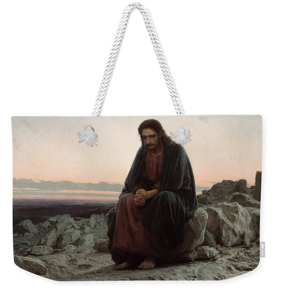 Christ In The Desert Weekender Tote Bag