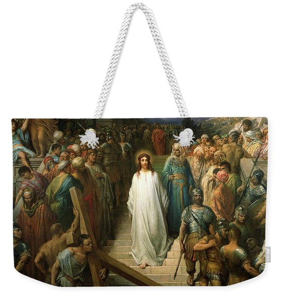 Christ Leaves His Trial Weekender Tote Bag