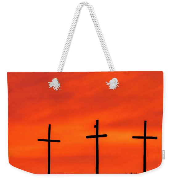 Christ Pilot Me Hill -02 Weekender Tote Bag