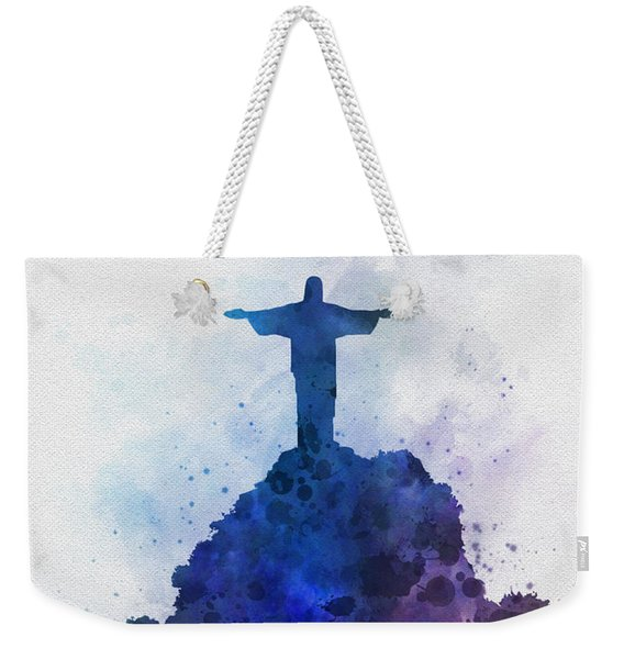 Christ The Redeemer Weekender Tote Bag