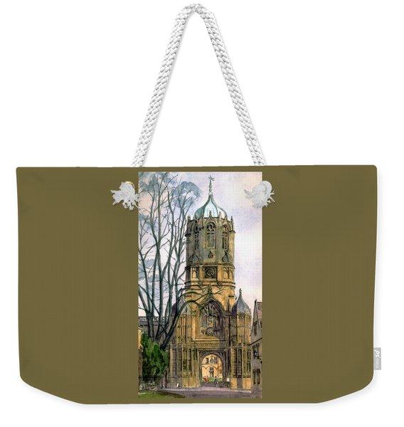 Christchurch College Oxford Weekender Tote Bag