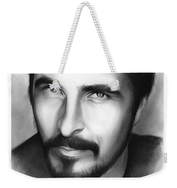Christian Bale Weekender Tote Bag