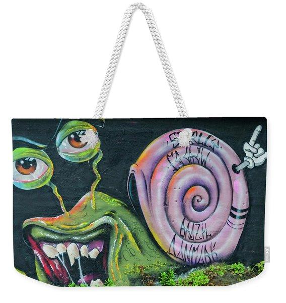 Christiania Mural Weekender Tote Bag