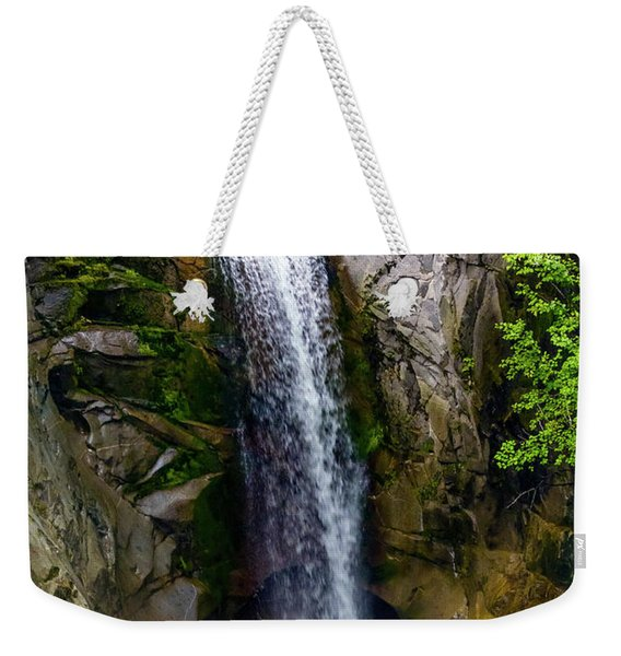 Christine Falls Mt Rainier Weekender Tote Bag