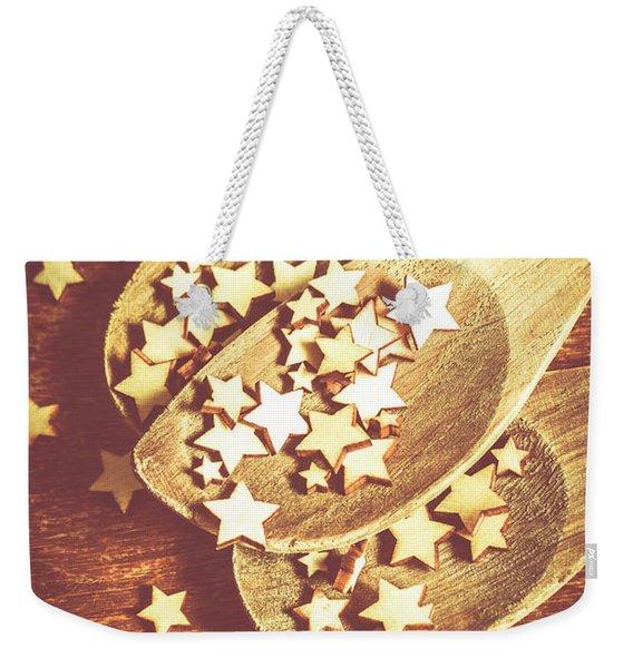 Christmas Baking Background Weekender Tote Bag