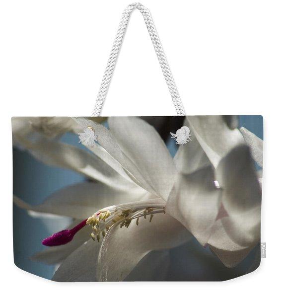 Christmas Cactus Blossom Weekender Tote Bag