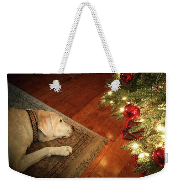 Christmas Dreams Weekender Tote Bag
