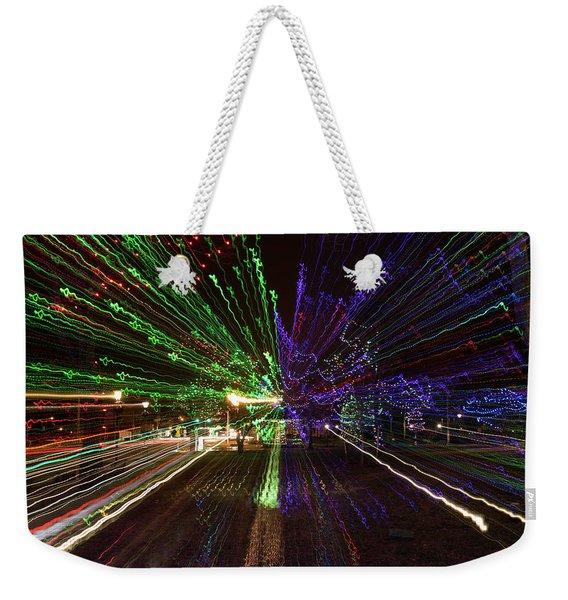 Christmas Exploding Weekender Tote Bag