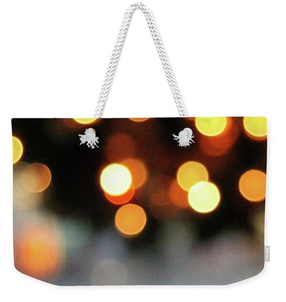 Christmas Glitter- Art By Linda Woods Weekender Tote Bag