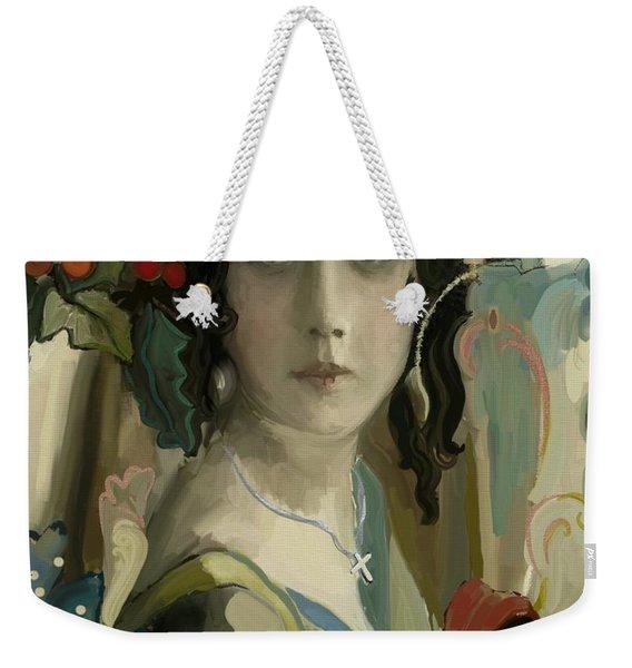 Christmas Grace Weekender Tote Bag