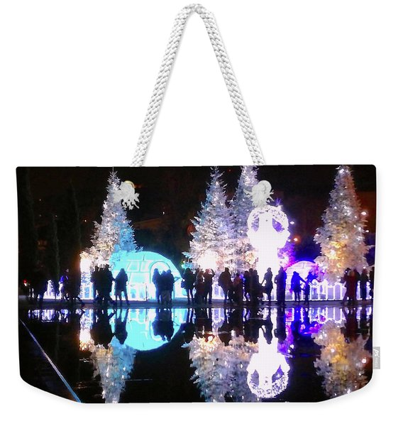 Christmas In Nizza, Southern France Weekender Tote Bag