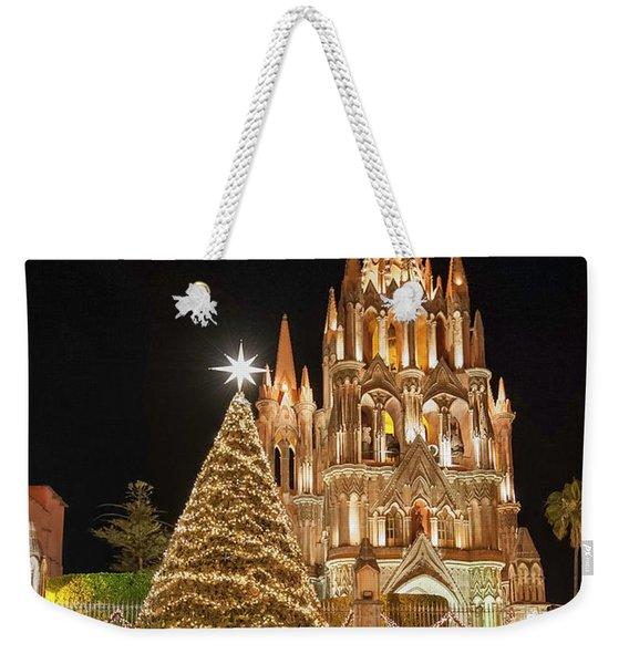 Christmas In San Miguel Weekender Tote Bag