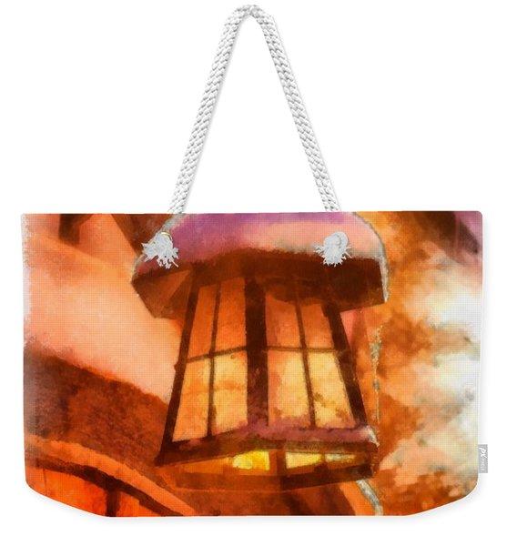 Christmas Lamp Weekender Tote Bag