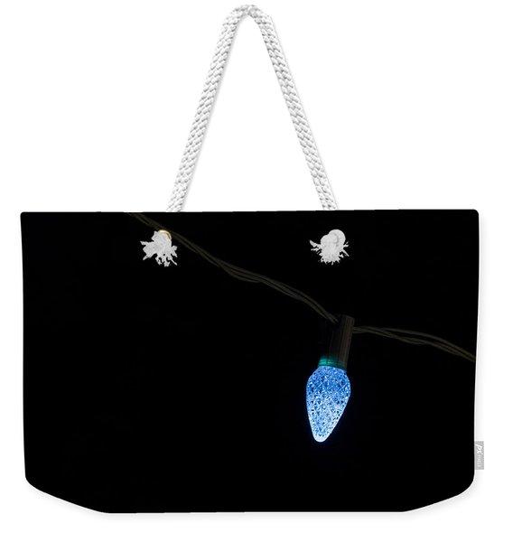 Christmas Light Weekender Tote Bag