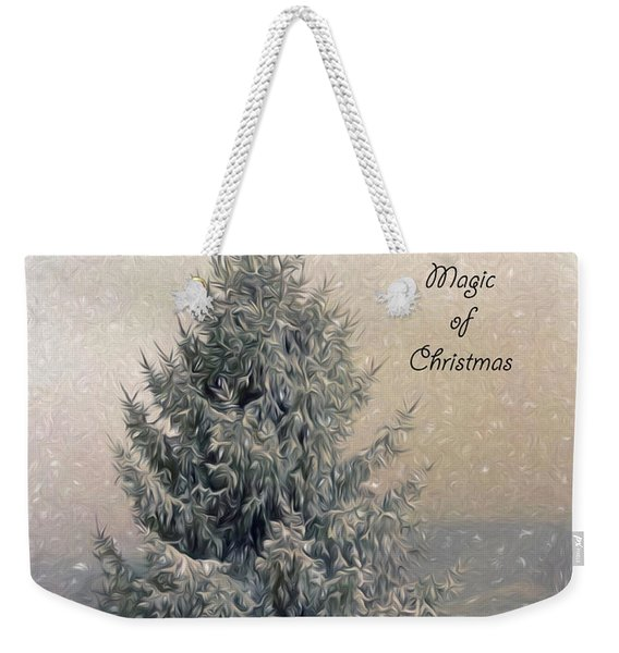 Christmas Magic Weekender Tote Bag