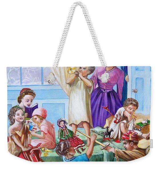 American History  We Say Merry  Christmas  Because It Is Christmas  Weekender Tote Bag
