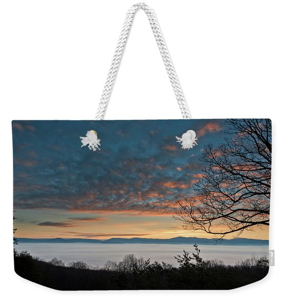 Christmas Morning Sunrise 2016 Weekender Tote Bag
