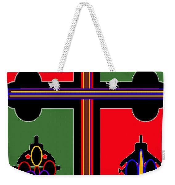 Christmas Ornate 1 Weekender Tote Bag