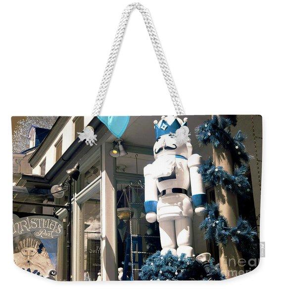 Christmas Past Nutcracker Weekender Tote Bag