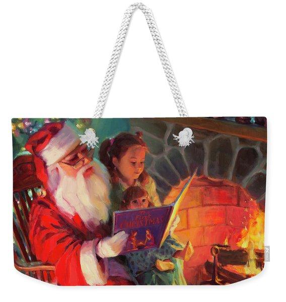 Christmas Story Weekender Tote Bag