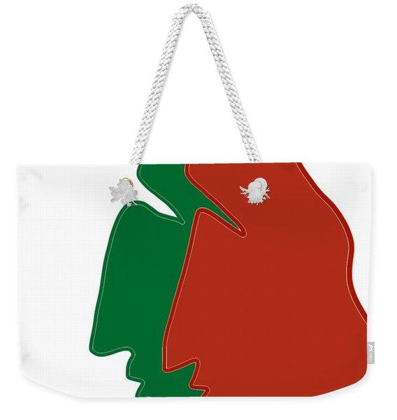 Christmas Together Weekender Tote Bag