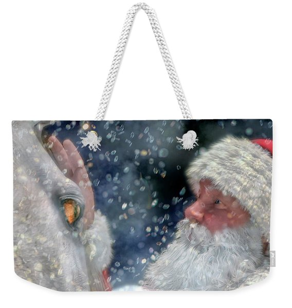 Christmas Touch Weekender Tote Bag