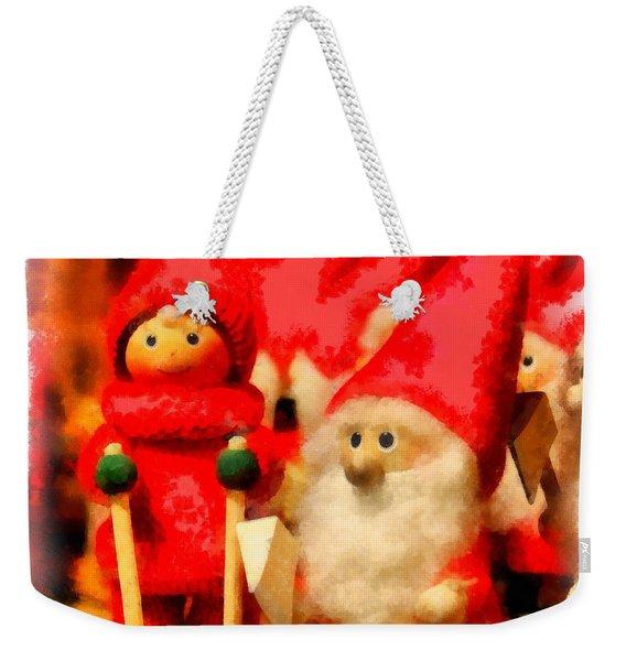Christmas Toys Weekender Tote Bag