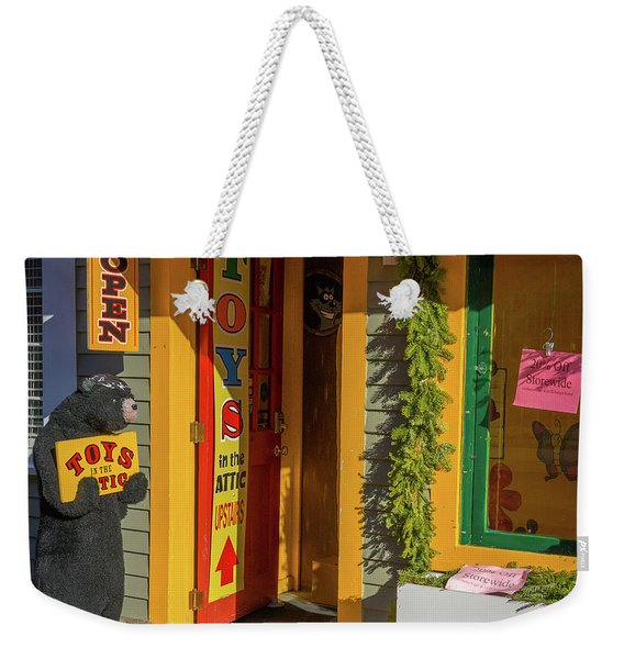 Christmas Toys In The Attic Weekender Tote Bag