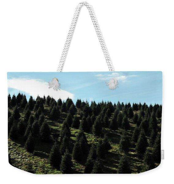 Christmas Tree Farm Weekender Tote Bag