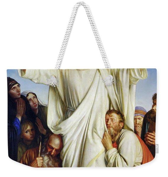 Christus Consolator Weekender Tote Bag