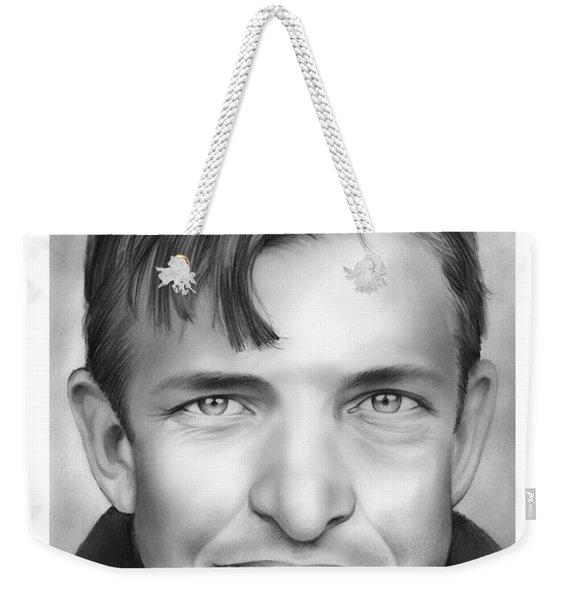 Christy Mathewson Weekender Tote Bag