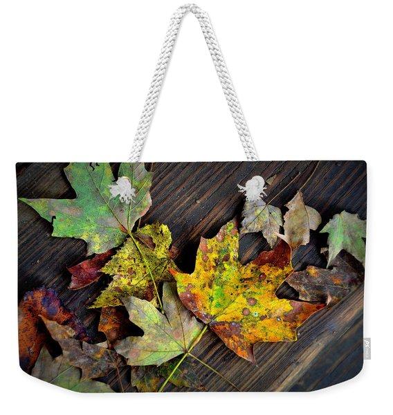 Chromatic Finale Weekender Tote Bag